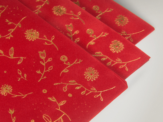 RJ Paper | Red packets – Suedel Luxe Pivoine